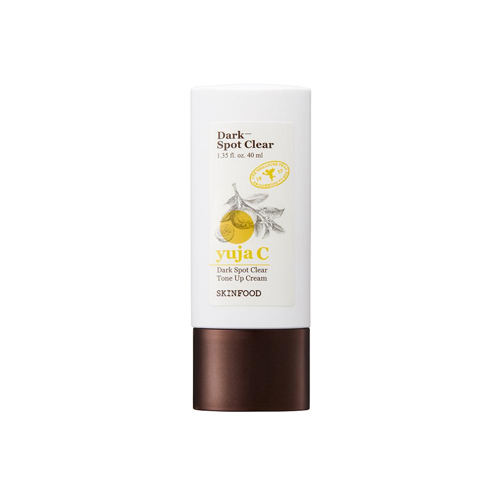Kem dưỡng nâng tông màu da SKINFOOD YUJA C Dark Spot Clear Tone Up Cream