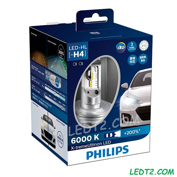 Đèn pha LED Philips Xtreme Ultinon +200%