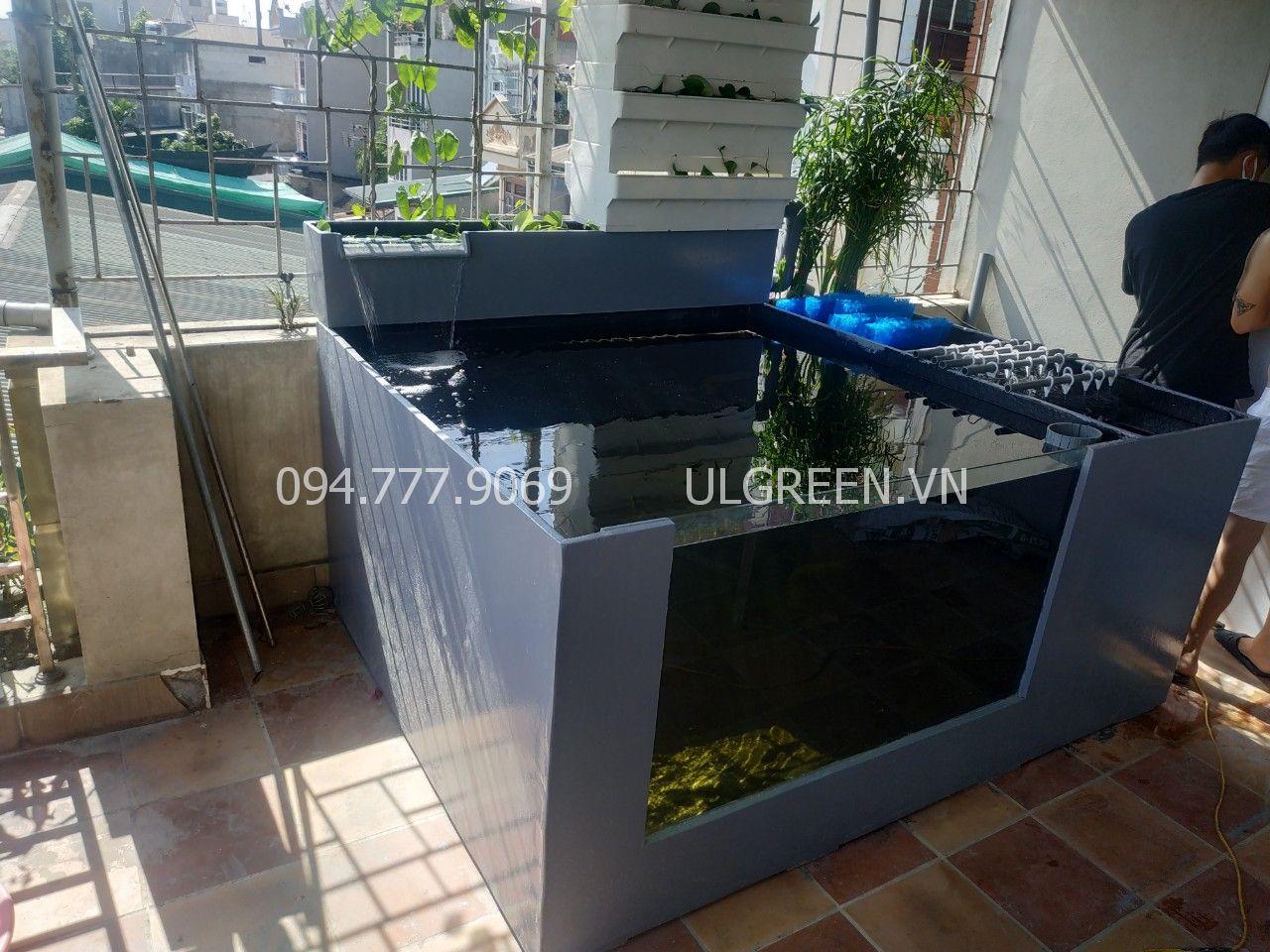 Dự án bể cá composite 200*150*85