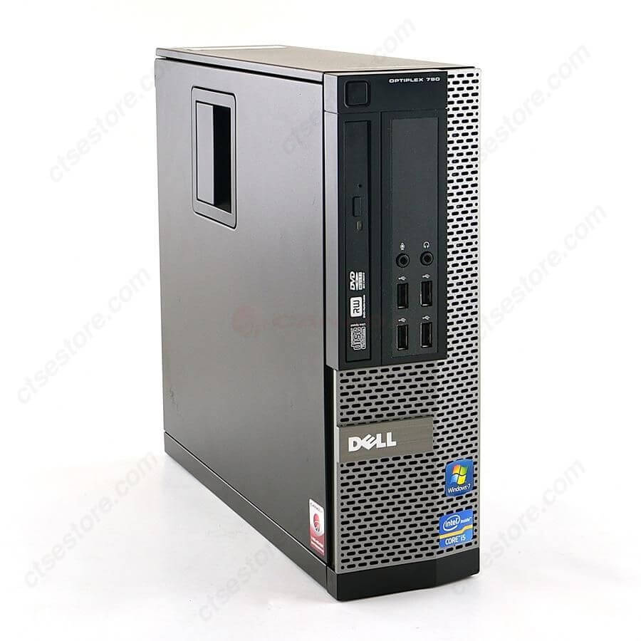 Máy tính Desktop Dell OPTIPLEX 790 (Intel Core i3-2100 3.1Ghz, RAM 2GB, HDD 160GB)