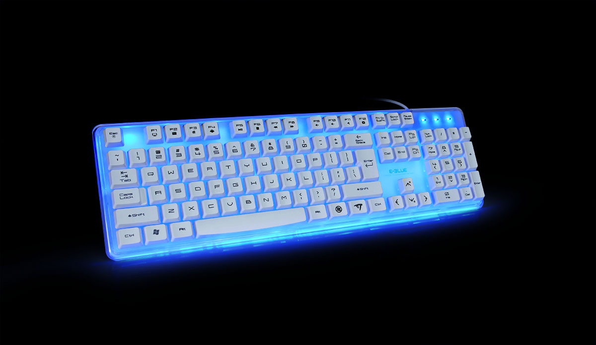 Keyboard Eblue Backlighting EKM734
