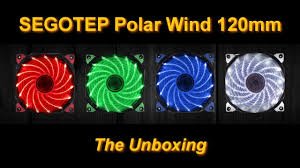 Fan Case Segotep Polar Wind - 12