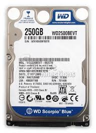 Ổ cứng HDD 250GB laptop