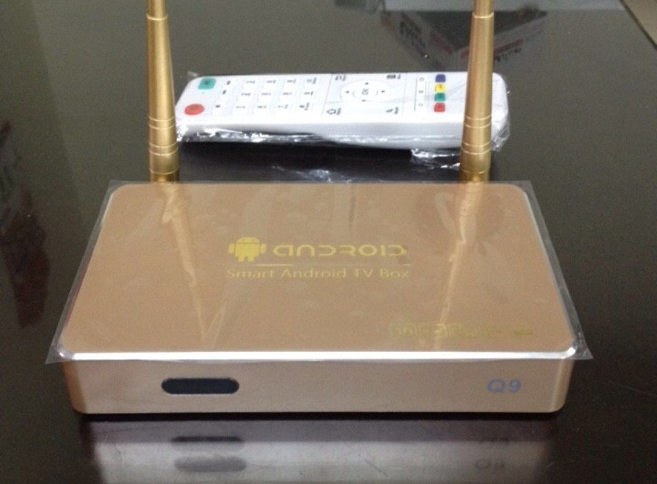 Smart Android Tivi box Q9 2 Ăng Ten