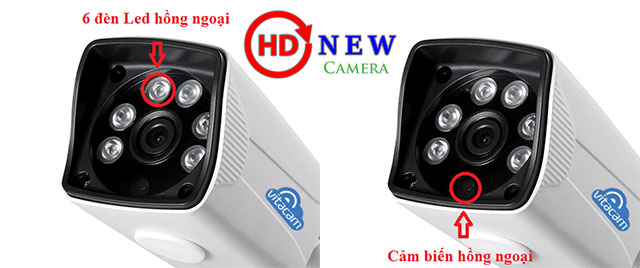 Camera Vitacam VB1080 – 2.0MP 1080P FULL HD