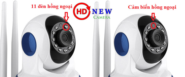 Camera Vitacam IP VT720 – 1.0 MP HD 720P