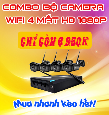 BỘ CAMERA WIFI JOOAN TC-734NVR-4E-AW