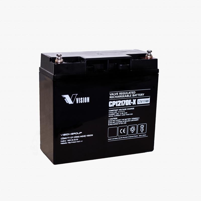 Phân phối Ắc quy Vision CP12170 (12V-17ah) chính hãng giá tốt nhất
