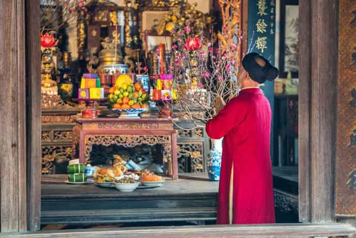 Lễ cúng giao thừa là một nét đẹp trong phong tục truyền thống của người Việt ta