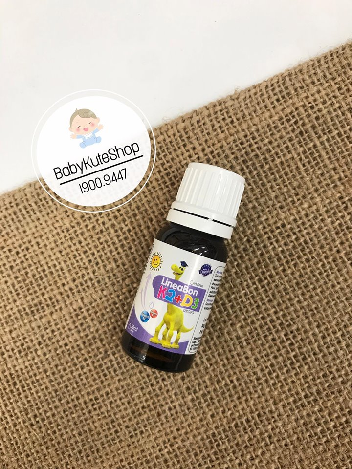 Vitamin D3 + K2 LineaBon Hỗ Trợ Hấp Thụ Canxi
