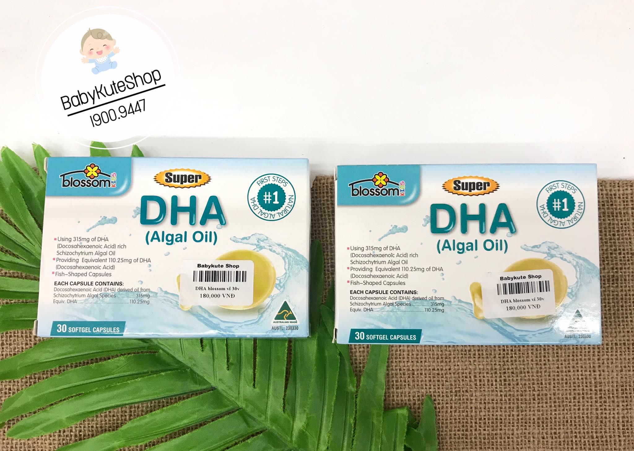 Super DHA Blossom Dành Cho Bé Từ 1 Tuổi Trở Lên