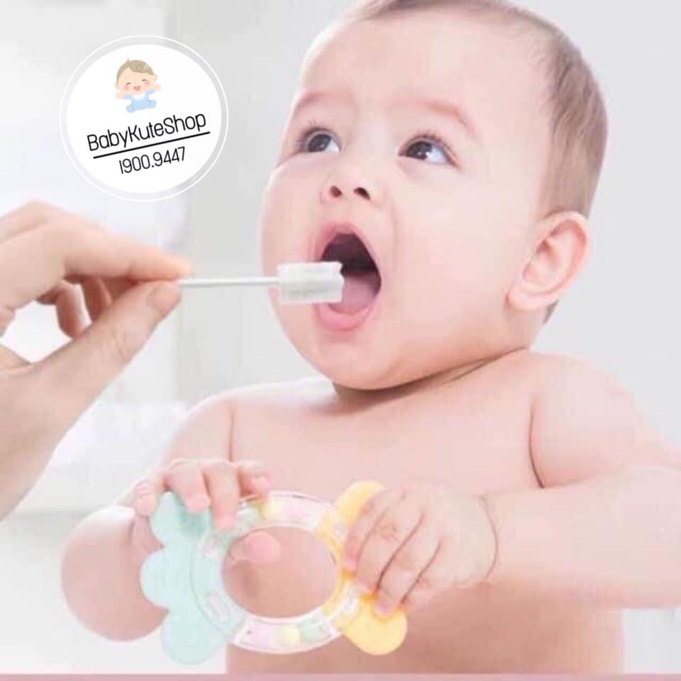 Que đánh rơ lưỡi VCOOL cho bé sơ sinh (hộp 30 que)