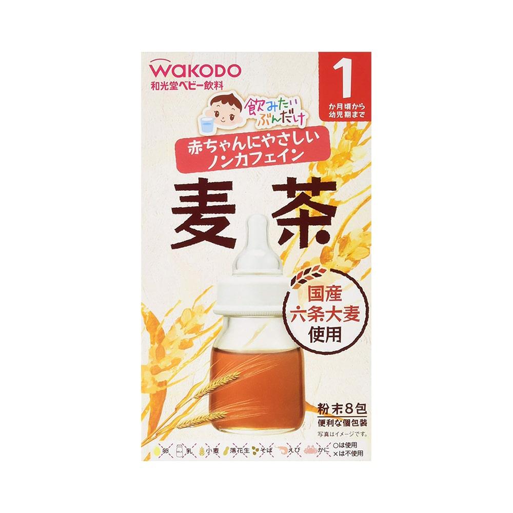 Trà lúa mạch Wakodo Nhật Bản cho bé 1m