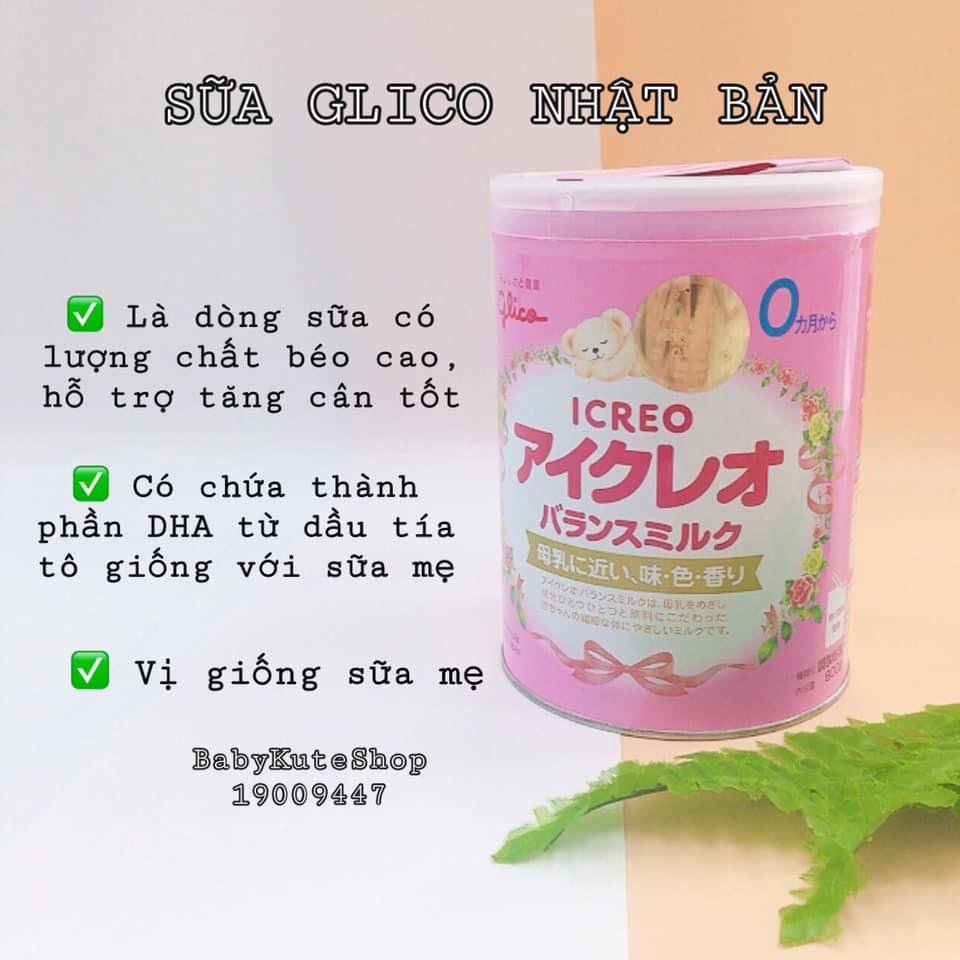 Sữa Glico số 0 ( Dành Cho Bé Từ 0 - 1 Tuổi )