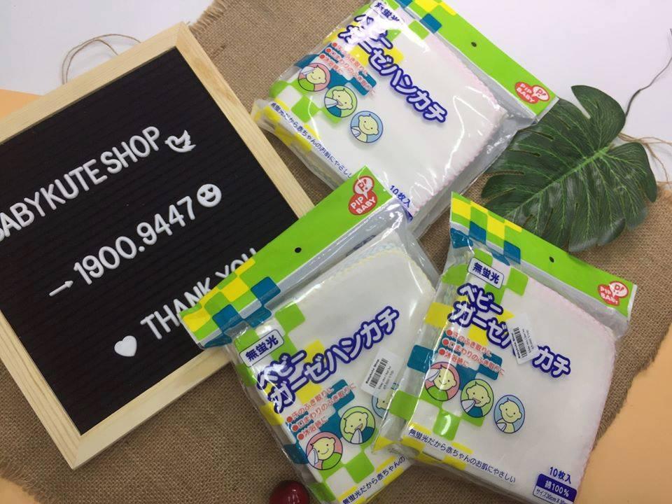 Khăn sữa Nhật Chuchu Pipbaby