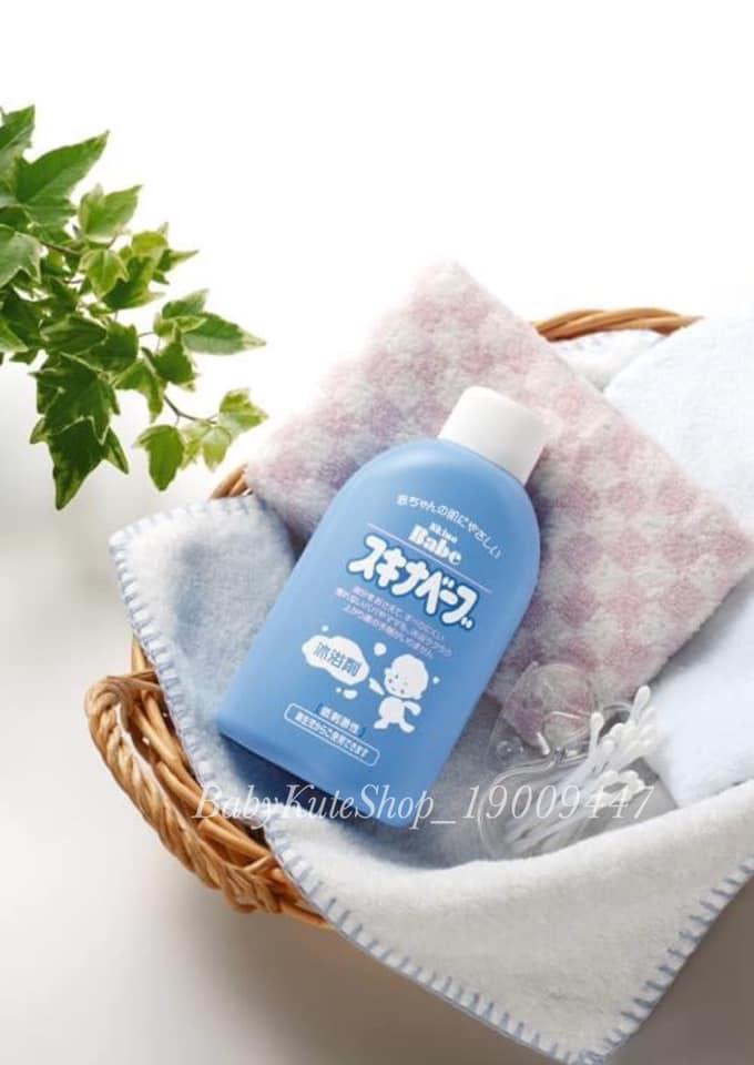 Sữa Tắm trị rôm sảy Skina Babe 500ml Nhật Bản