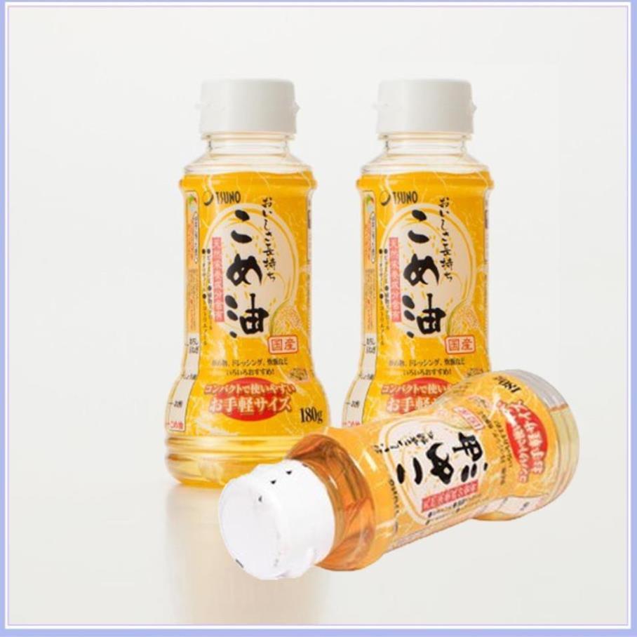 Dầu gạo nguyên chất Tsuno Nhật Bản loại 180g.