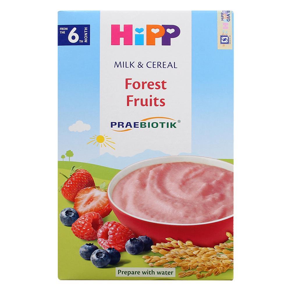 Bột dinh dưỡng HiPP hoa quả rừng 250g (Trên 6 tháng)