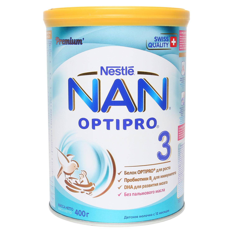 Sữa NAN Nga Số 3 400g ( Dành cho bé trên 1 tuổi )
