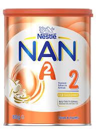 Sữa NAN A2 Úc Số 2 ( Dành cho bé từ 6 - 12 tháng tuổi )