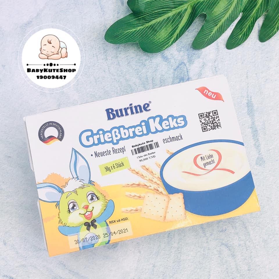 Cháo sữa Burine vị bích quy (Từ 6 tháng)