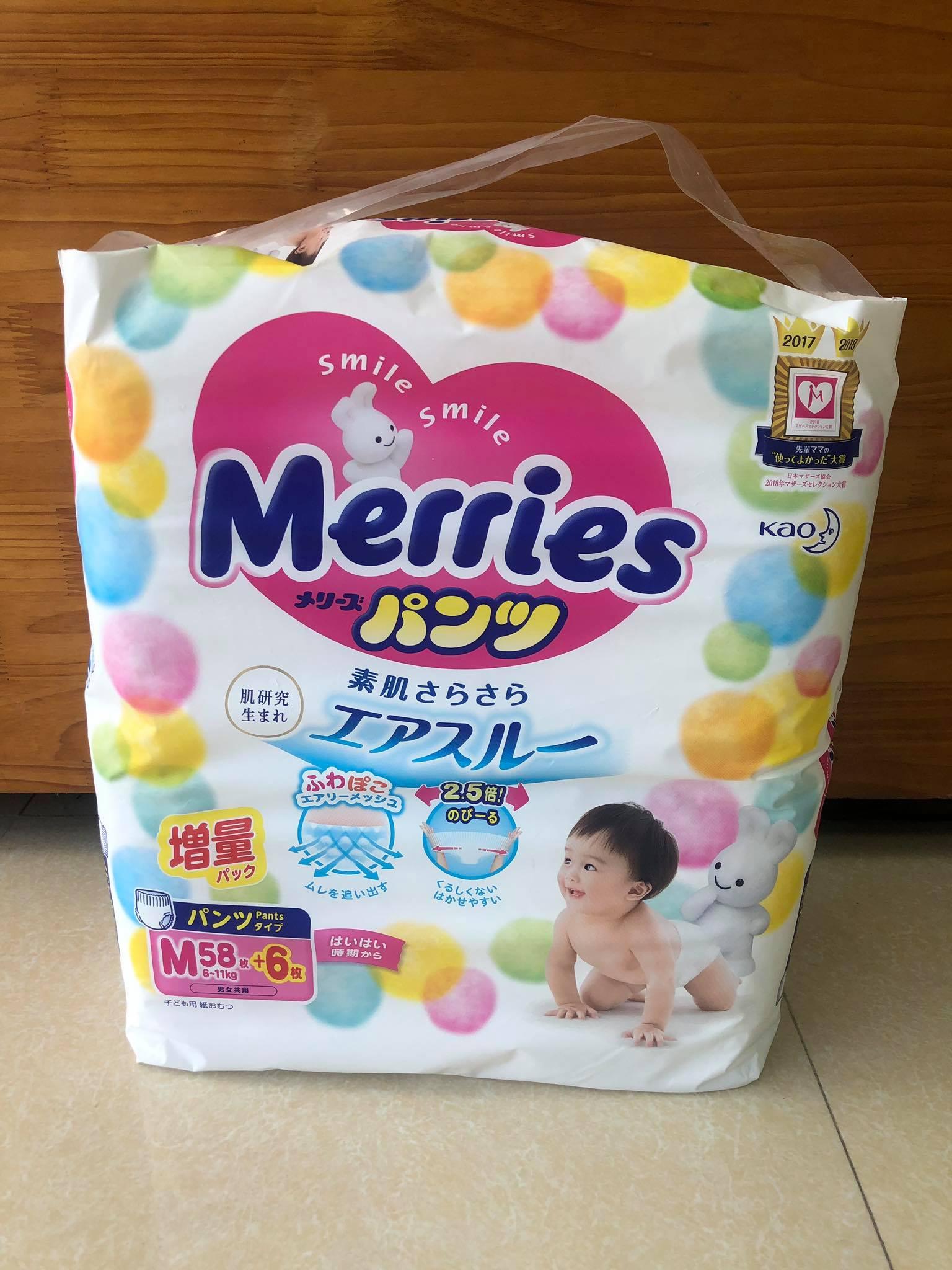 BỈM QUẦN MERRIES M58+6
