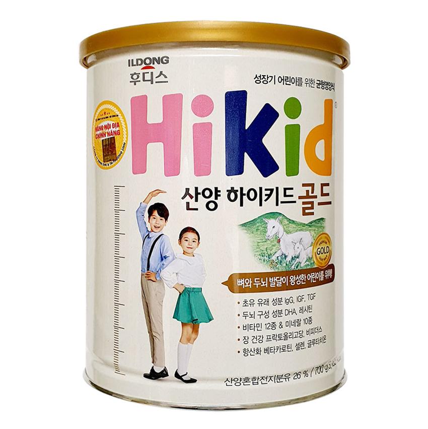 Sữa HiKid Dê ( Dành Cho Bé Từ 1 - 9 tuổi )