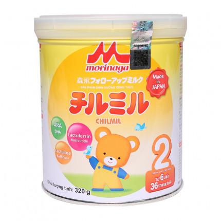 Sữa Morinaga NK Số 2 320g ( Dành cho bé tưng 6 - 36 tháng tuổi )