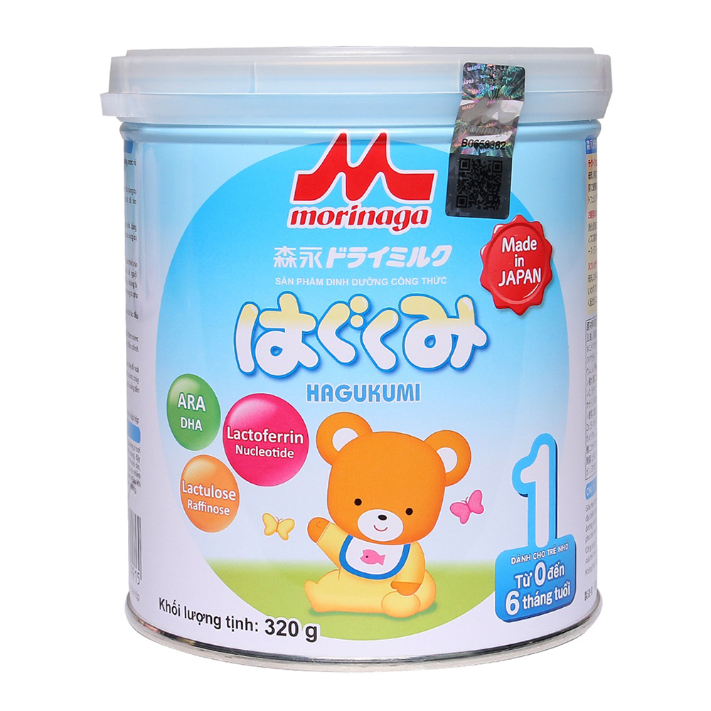 Sữa Morinaga NK Số 1 320g ( Dành cho bé từ 0 - 6 tháng tuổi )