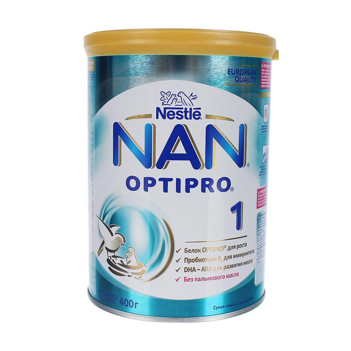 Sữa NAN Nga Số 1 400g ( Dành cho bé từ 0 - 6 tháng tuổi )