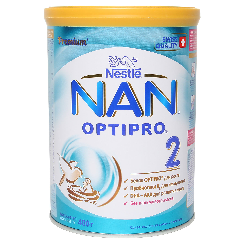Sữa NAN Nga Số 2 400g ( Dành cho bé từ 6 - 12 tháng tuổi )