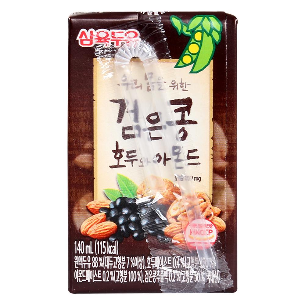 Sữa nước đậu đen óc chó hạnh nhân Sahmyook 140ml ( Dành cho bé trên 1 tuổi )
