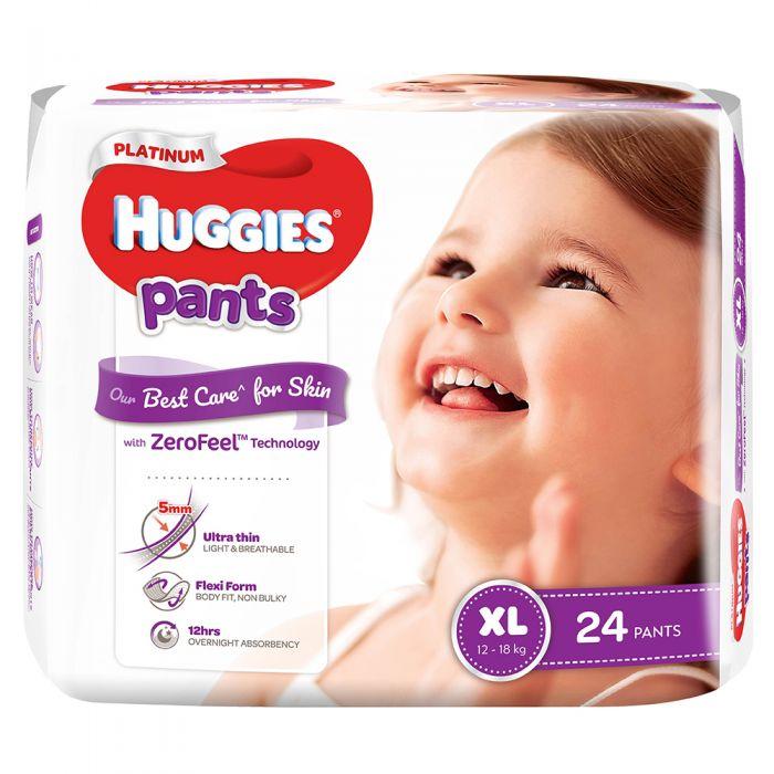 BỈM QUẦN HUGGIES PLATIUM XL24