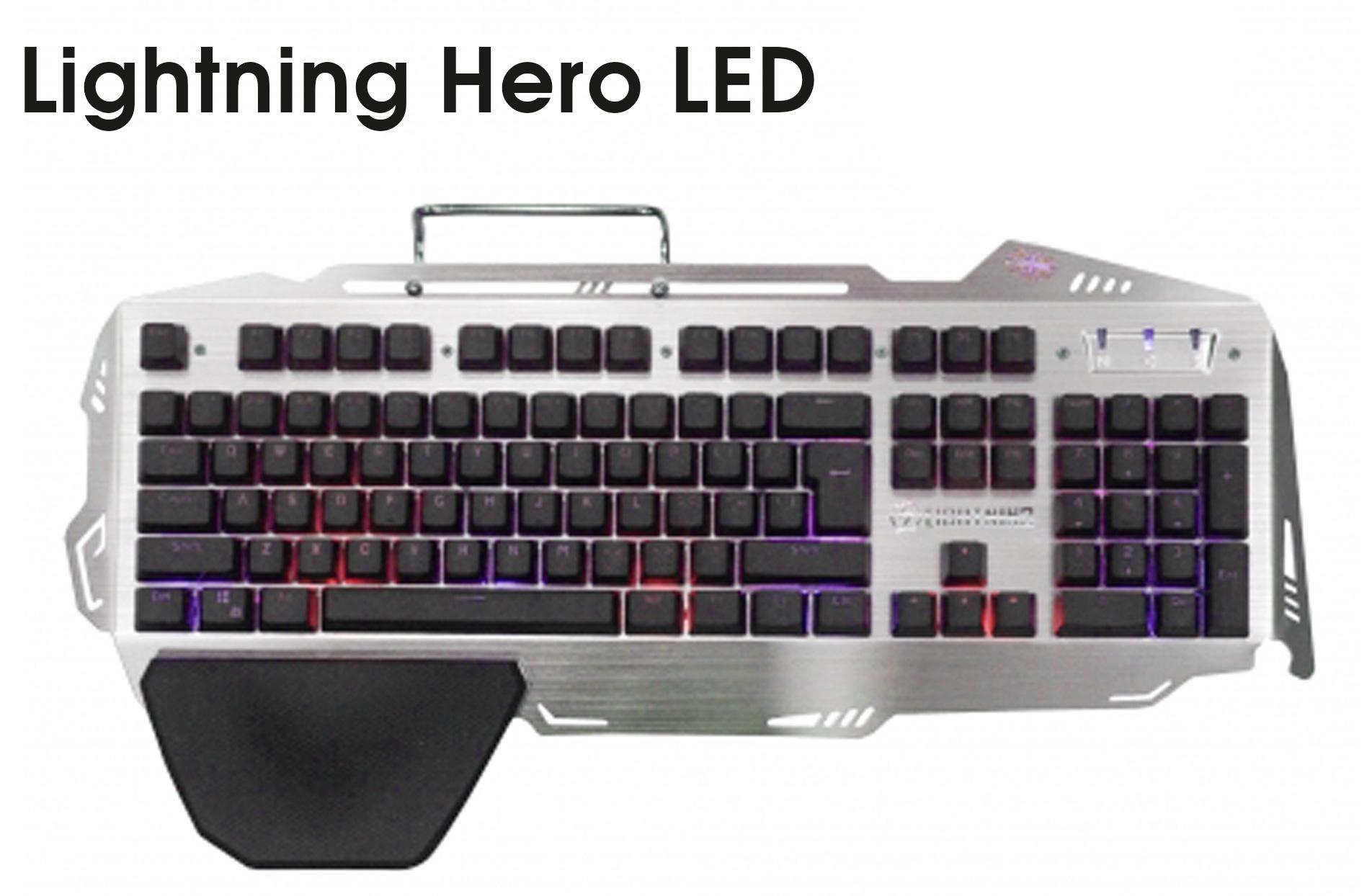 Bàn phím Lightning Hero - GIẢ CƠ MẶT NHÔM