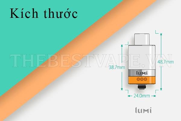 Bán đầu đốt vape LUMI TANK shisha thuốc lá điện tử giá rẻ chính hãng