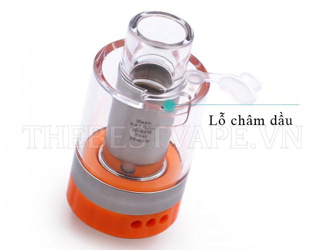 Bán buồng đốt vape giá rẻ shisha thuốc lá điện tử LUMI TANK chính hãng