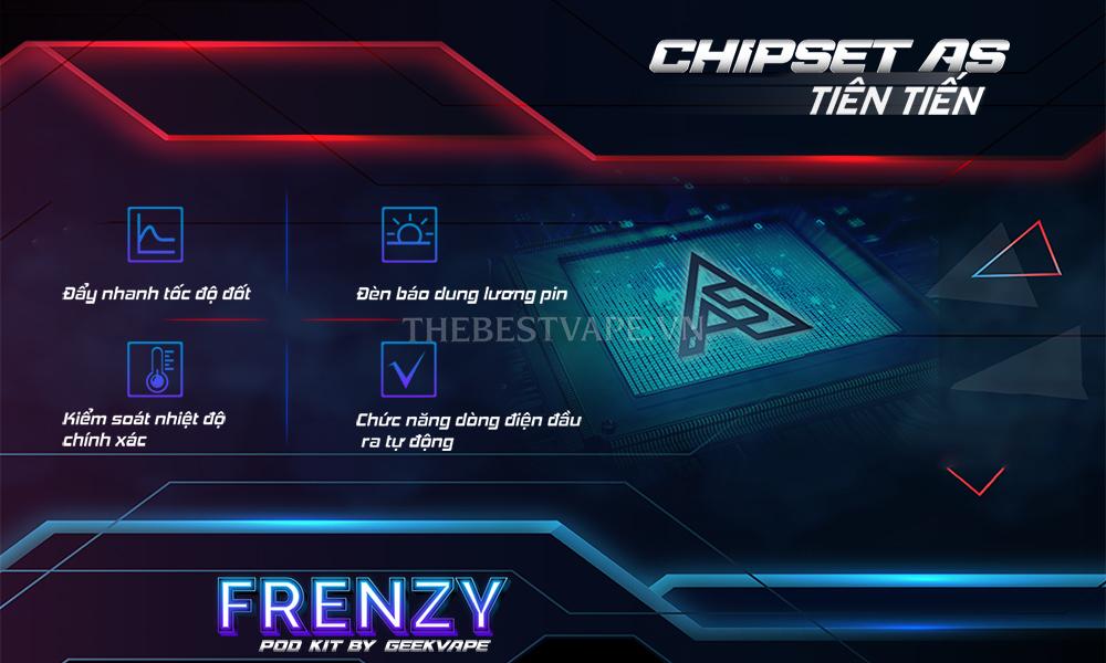 Pod system FRENZY Kit Vape shisha giá rẻ chính hãng GeekVape tp hcm