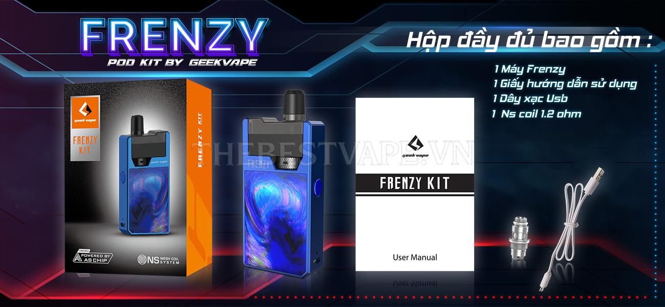 Vape Pod system giá rẻ FRENZY Kit Geek Vape giá rẻ chính hãng tai hcm hn