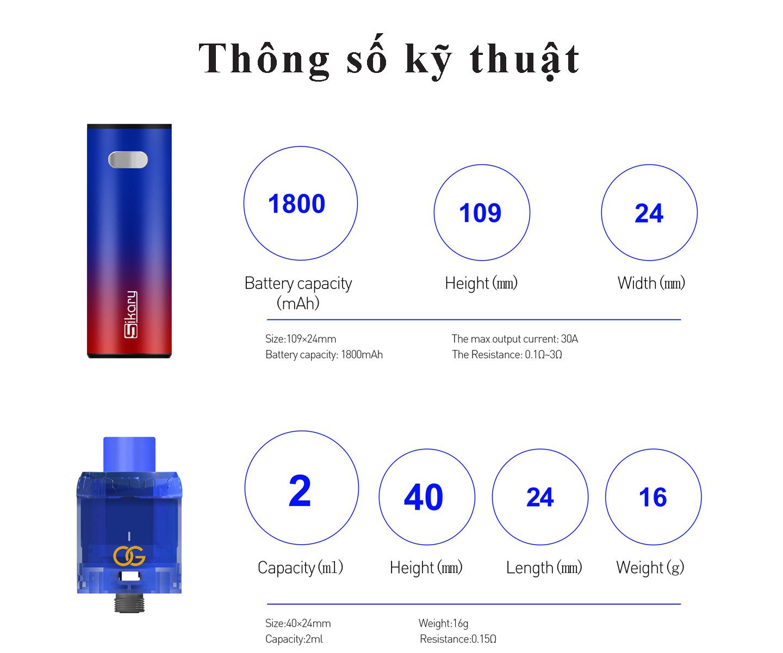Bán vape giá rẻ chính hãng thuốc lá shisha điện tử NuNu Kit