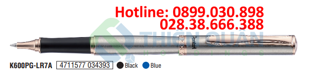 Bút bi kim loại, bấm cao cấp - 0.7mm (NEW)