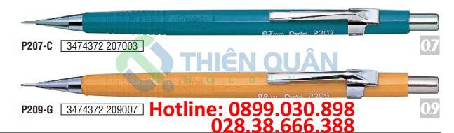 Bút chì kim kỹ thuật, thân nhựa đục - 0.7mm