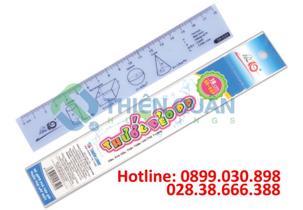 Thước dẻo SR-023 18cm PP