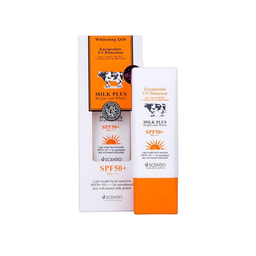 Kem chống nắng mặt Scentio Milk Plus SPF50+ PA++ 30g