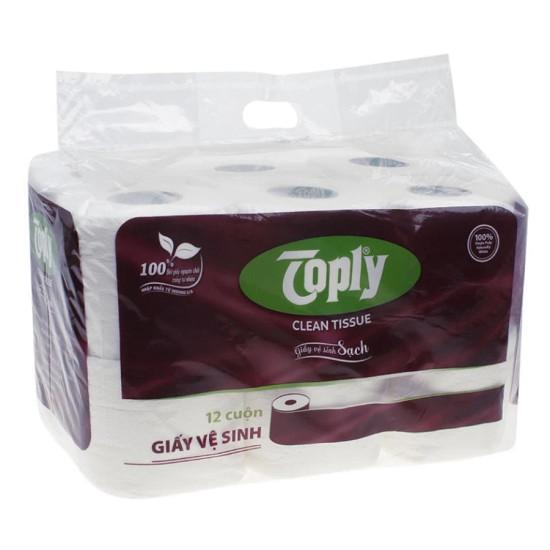 Giấy vệ sinh Toply 12 cuộn