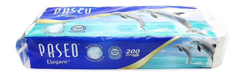 Giấy vệ sinh Paseo Dolphin 10 cuộn 4 lớp
