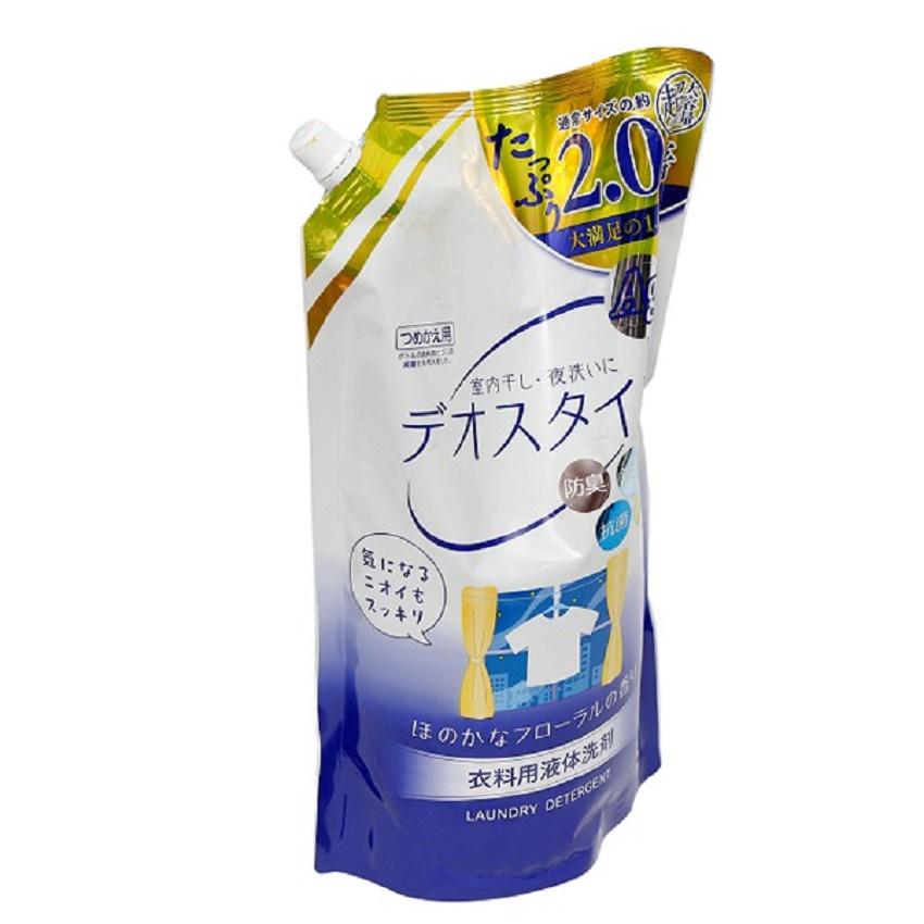 Nước giặt DEO ion kháng khuẩn Ag+ 1,65kg (dạng túi)