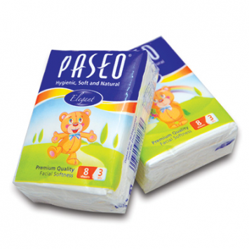 Lốc 10 gói Khăn giấy bỏ túi Paseo