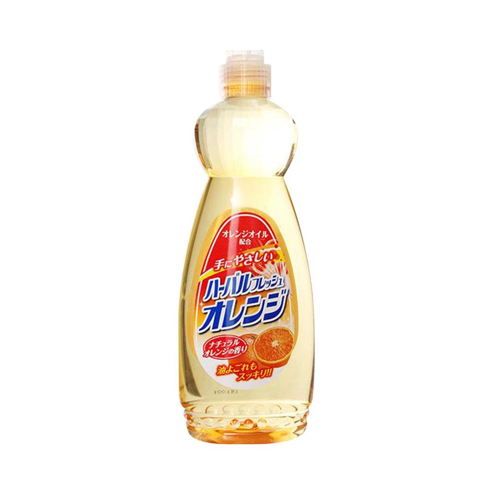 Nước rửa chéndiệt khuẩn tinh chất cam Mitsuei