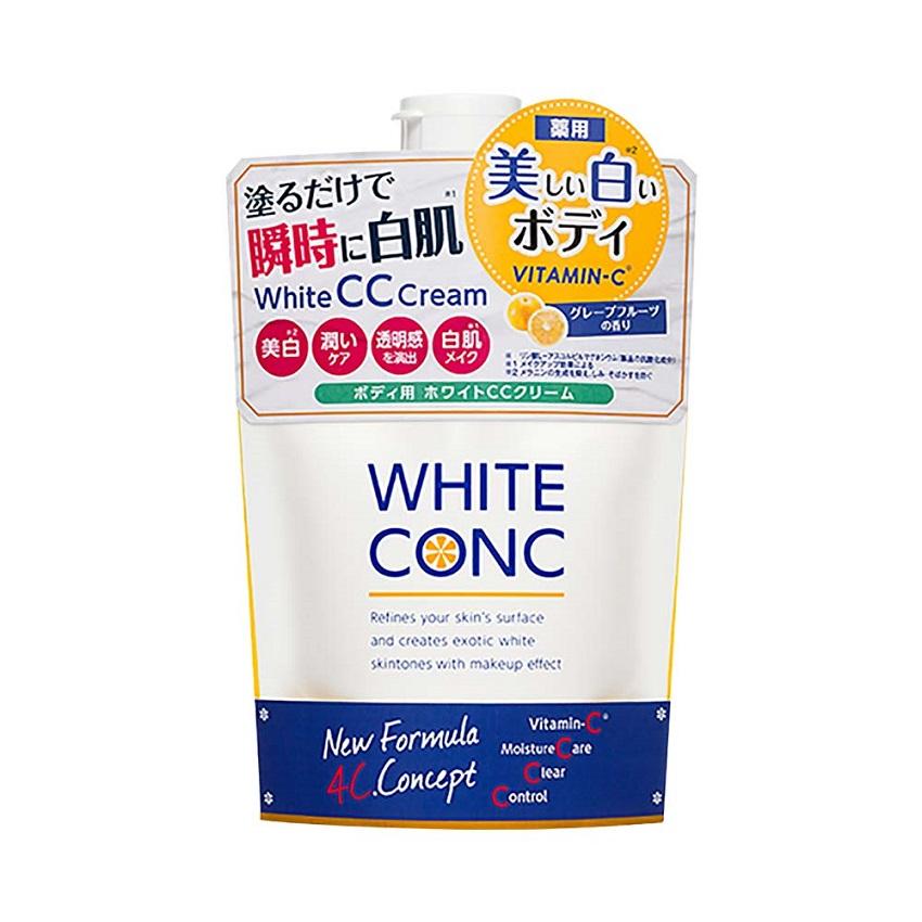 Sữa dưỡng thể trắng da White Conc Body CC Cream 200g (BAN NGÀY)