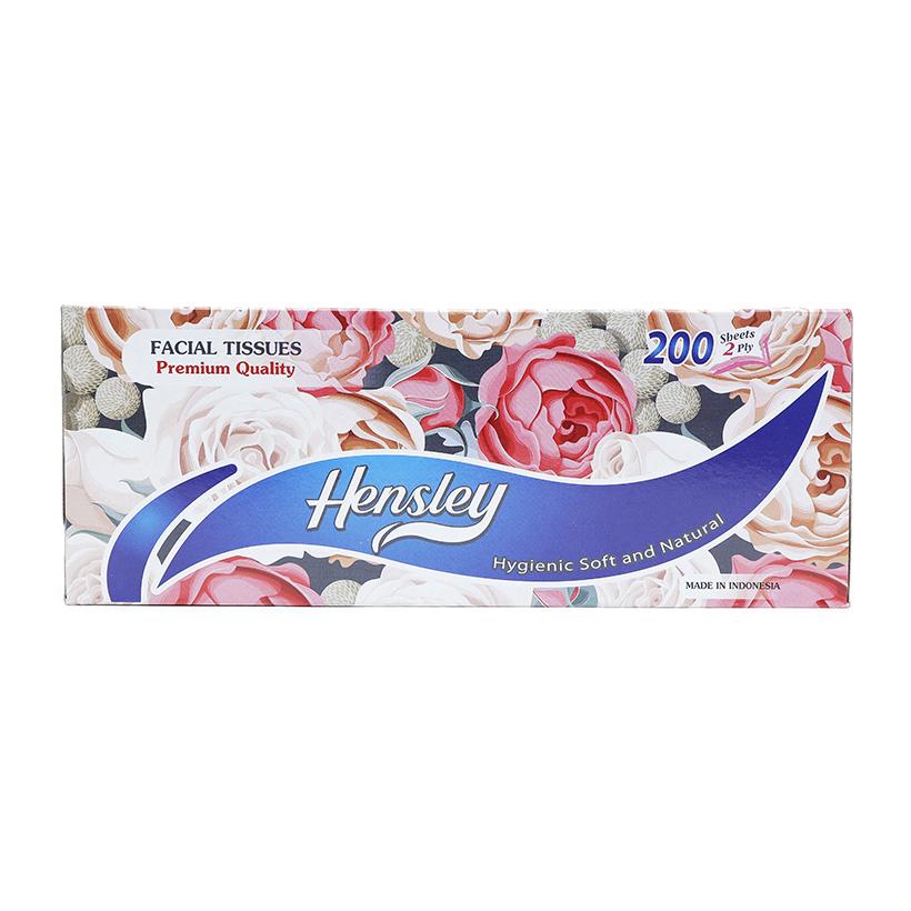 Khăn giấy hộp Hensley 200 tờ (2lớp)